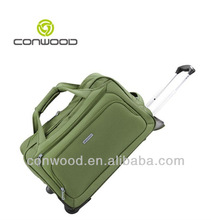 Conwood CW449 fashion trolley bag 600D polyester Duffle trolley bags
