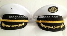 white military hats