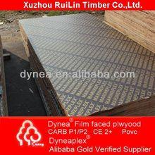 El álamo espalda 800*2050*3.6mm de madera contrachapada para la puerta y la cama de madera contrachapada dynea dyneaplex