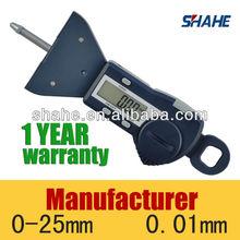 5340#high quality digital tyre thread depth gauge 25mm