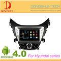 8 pulgadas android 4.0 de audio del coche de entretenimiento de video sistema de navegación 2 din dvd para hyundai