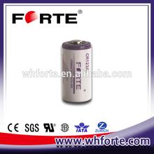 3.0V CR123A Lithium Battery for Panasonic canon sony camera