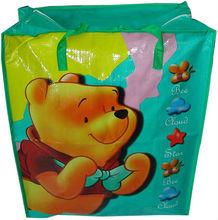 cartoon figure laminated PP non woven bag