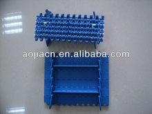Plastic modular belt 900 for planar double limit