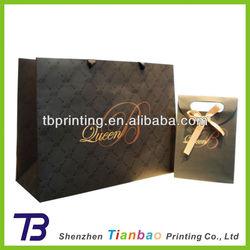 Luxury art gift paper shopping bag