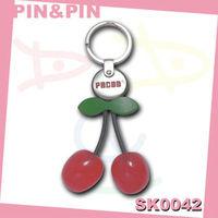 customized colorful engraved logo 3d acrylic keychain