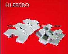 plastic table top chain 880BO plastic slat top chain for chain conveyor 880BS