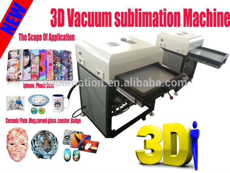 3d heat press vacuum sublimation machine