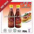 320g garrafa de molho de pimentão quente& molho agridoce
