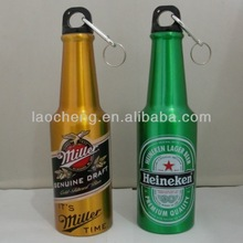 promotional product high quality 500ml aluminum beer bottle,wholesale beer bottles