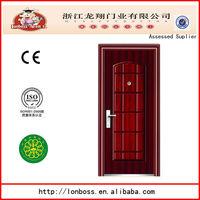 single decorative steel personnel Security steel Door