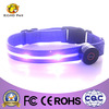 nylon waterproof led dog collar