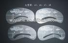 PVC Material Eyebrow Shaper Stencils