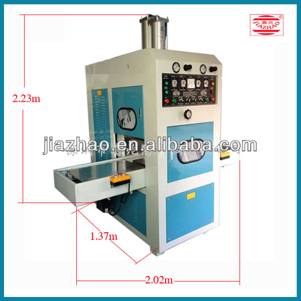 high frequency welding machine for leather cover making