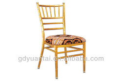 Comfortable Aluminium Banquet Chivari Chair YC-001