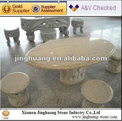garden stone Tables and benches, garden table/garden bench