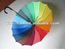 2012 cheap and new fashion auto open and auto close straight umbrella