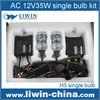 2015 hotest LIWIN canbus 35w ac slim car hid xenon kit h7 6000k
