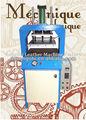 marroquinaria de gravação da máquina