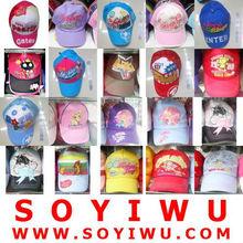CHILDREN BASEBALL CAP wholesale from Yiwu Market for Hats