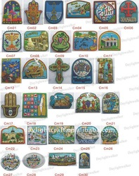 Promotional Religion Pvc Soft Jerusalem Fridge Magnet