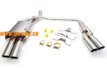 Auto muffler exhaust system for BMW E60 520/525/530