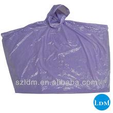 Para qualquer dia chuvoso poncho plástico descartável modelo LD-P0011