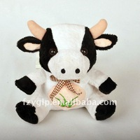 super soft and cute cow plush stuffed toys