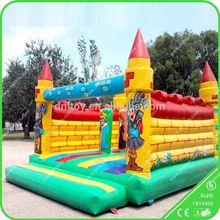 2015 kids games inflatable trampoline bouncers/jumper for sale