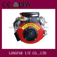 V-twin 2 cylinder Diesel Engine LP2V86