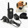 a prueba de agua y eléctrica recargable collar de perro con pantalla lcd