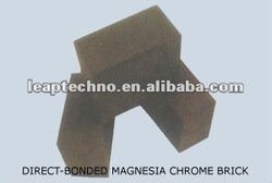 MB-DBC-16A Direct-Bonded Magnesia Chrome Brick; Refractory; non-ferrous metallurgy, cement rotary kilns, glass kilns