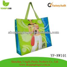 2014 Non woven Laminated Reusable Shopping Tote Bags