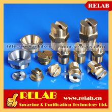 Industrial Brass Vee Jet Flat Fan Nozzle