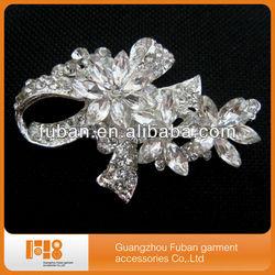 best selling bridal rhinestone brooch