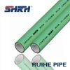 "Green ppr fibreglass composite pipe(antibacterial) 12"""