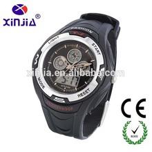 xinjia fashion quartz analog digital multiple time zone wrist watches