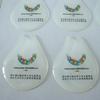Manufacturing price custom made exposy soft PVC Sticker