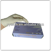 disposable latex powdered free surgical glove latex gloves