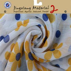 2014 Shaoxing 100% Polyester Chiffon Fabric For Pakistan fabric