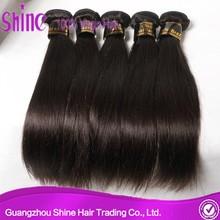 Unprocessed Wholesale Virgin Peruvian/Indian/Malaysian/Brazilian Hair, Brazilian Straight Hair