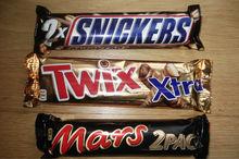 snickers mars twix milka kit kat chocolate