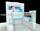Modern custom design cosmetic display kiosk for shopping mall
