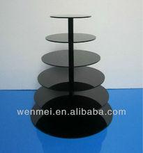 Acrylic Cake Display Rack, Round Shape Display( AD-006)