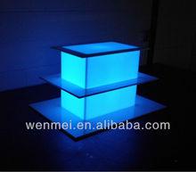Acrylic LED illuminated display box case handing