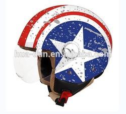 hot saling scooter helmet, open face helmet ,jet helmet HD-592