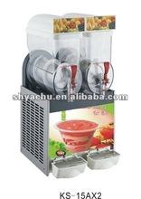 High Quality mobile ice cream ice slush machine van With Dual Tanks, double functions