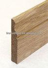 solid wood baseboard profile