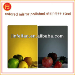 made in China no.8K mirror polishing stainless steel sheet