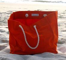 Blue White Striped Beach Bag Transparent Beach Bag
